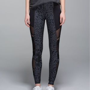 Lululemon Just Breathe Pant Animal Black Deep Coal